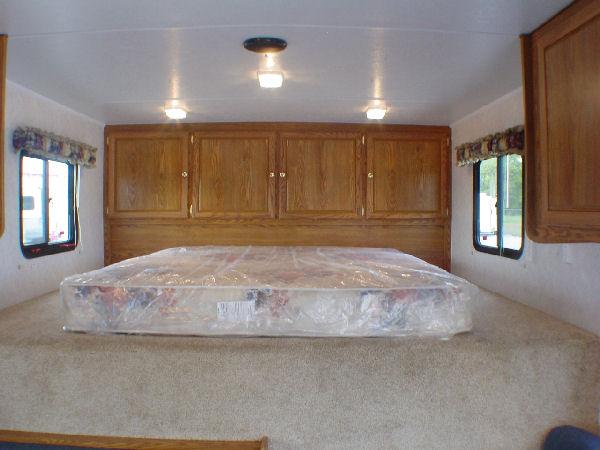Millenium Enclosed Trailers Cargo Bedroom Area