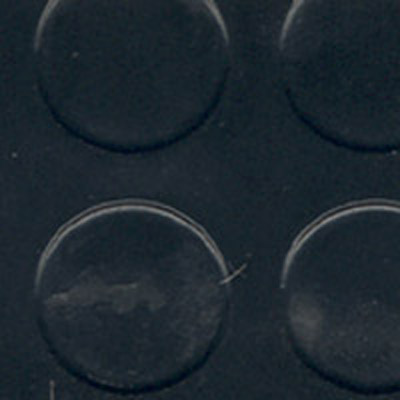 Rubber coin flooring that may be found in race car trailers.  Click to enlarge picture.