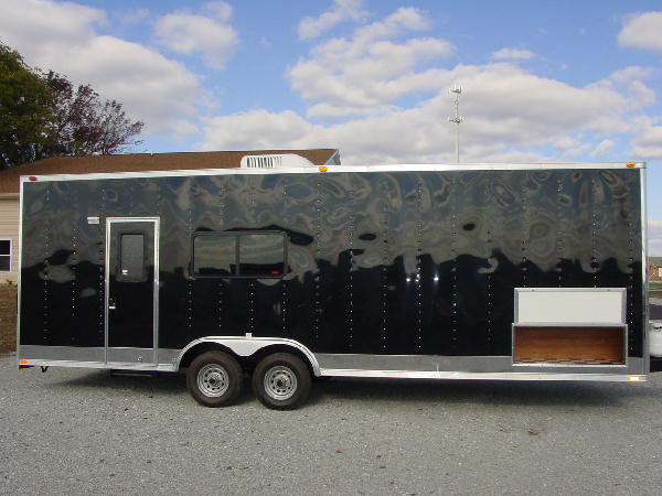 exterior view of our haulers