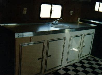 Millennium Cabinets with Sink