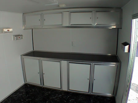 Straight Whote Cabinets