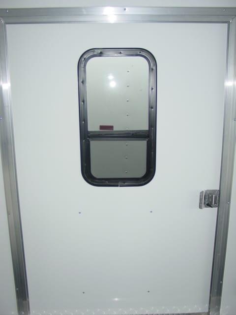 Window in 48 Inch Side Door